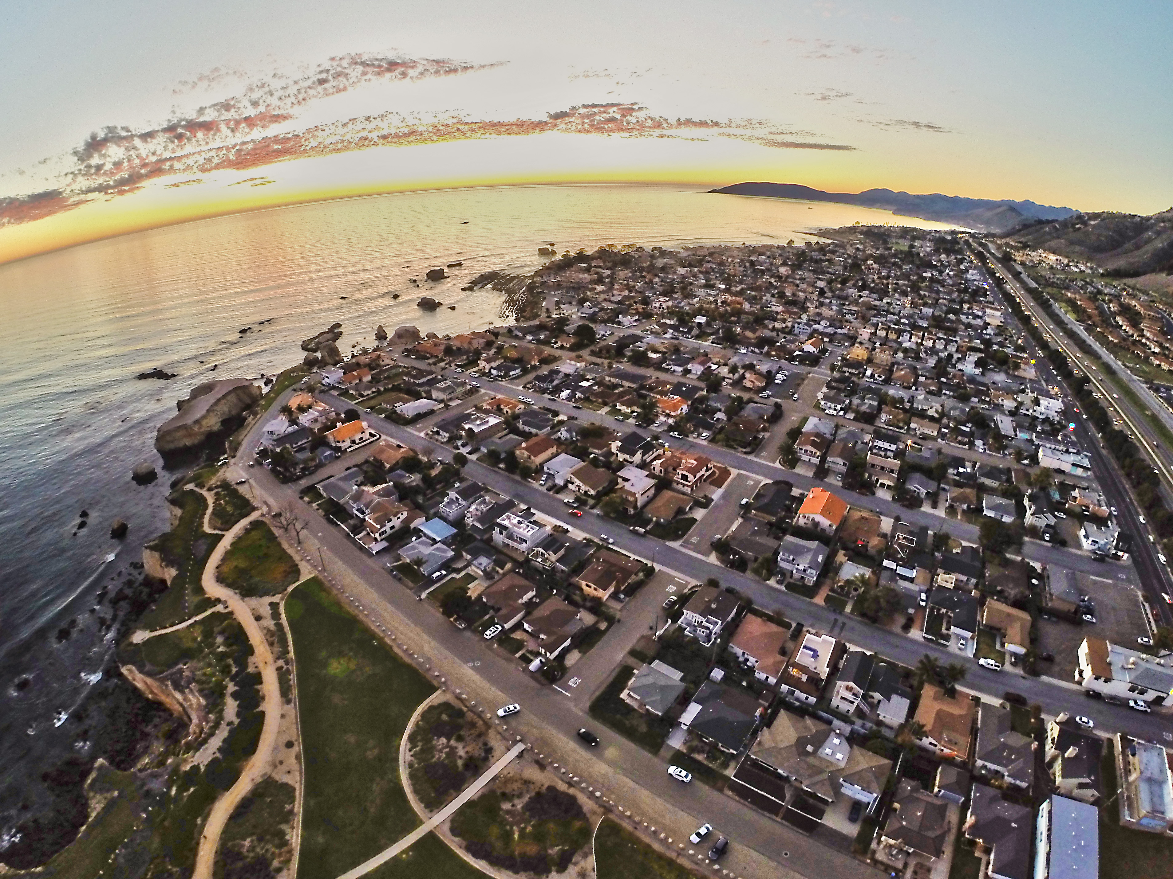 An Even Higher Aerial Photo Taken With A Drone